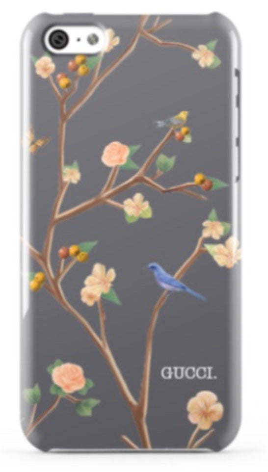 Gucci Westman x Minnie & Emma ~ Flowering Branches Phone Case