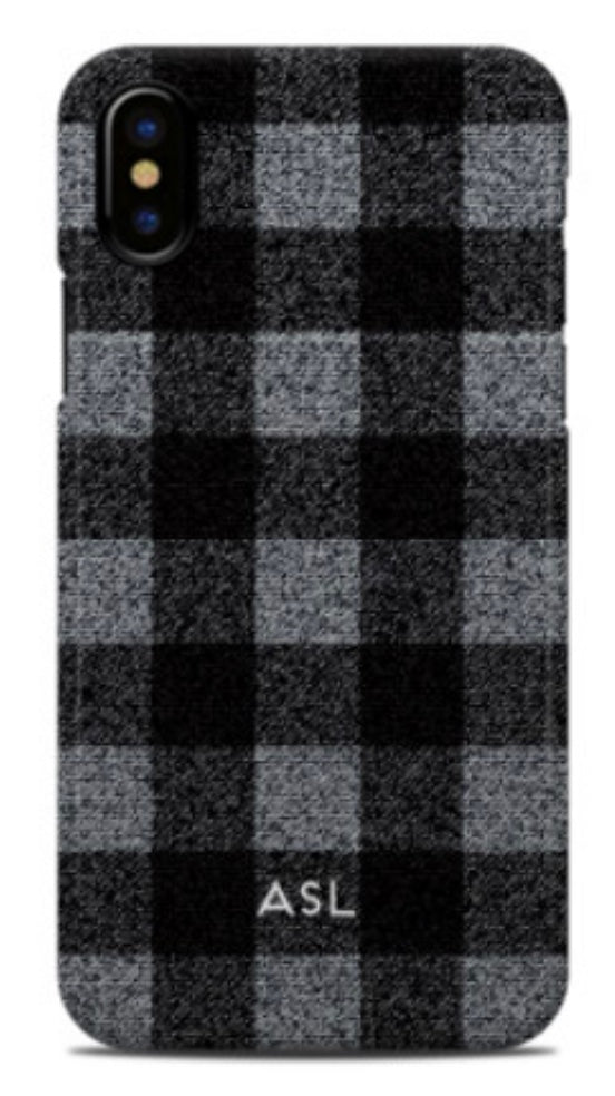 Small Buffalo Plaid Phone Case (2 color choices)