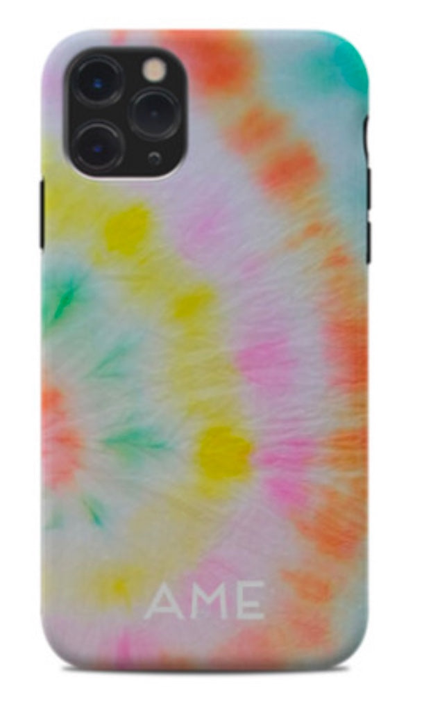 Here Comes The Sun Tie Dye Phone Case