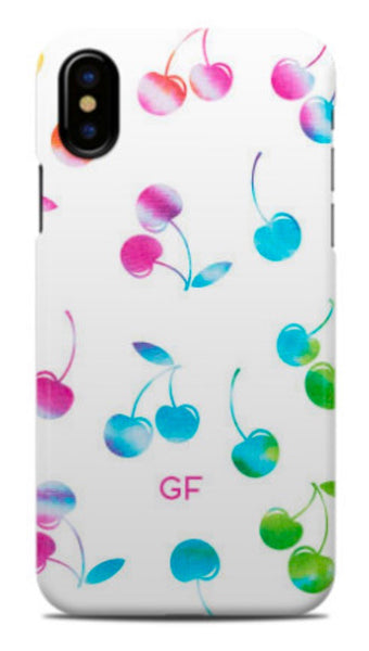 Tie Dye Cherry Phone Case