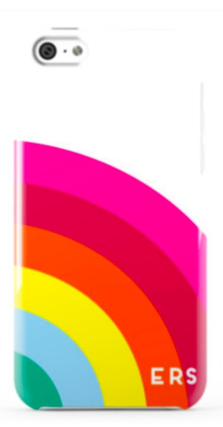 Large Rainbow Phone Case