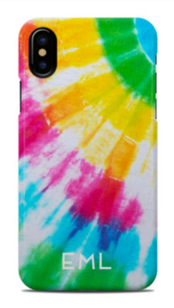 Ray Of Light Tie Dye Phone Case
