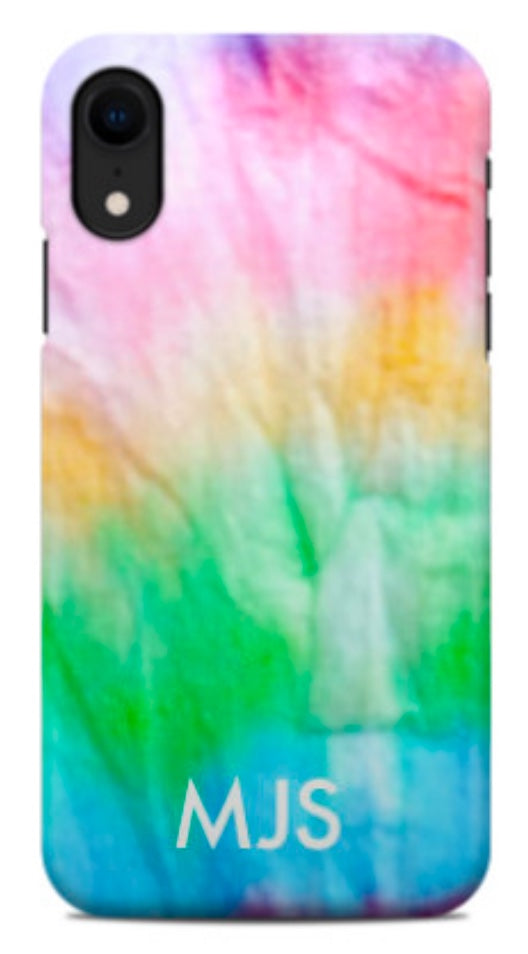 Soft Rainbow Tie Dye Phone Case