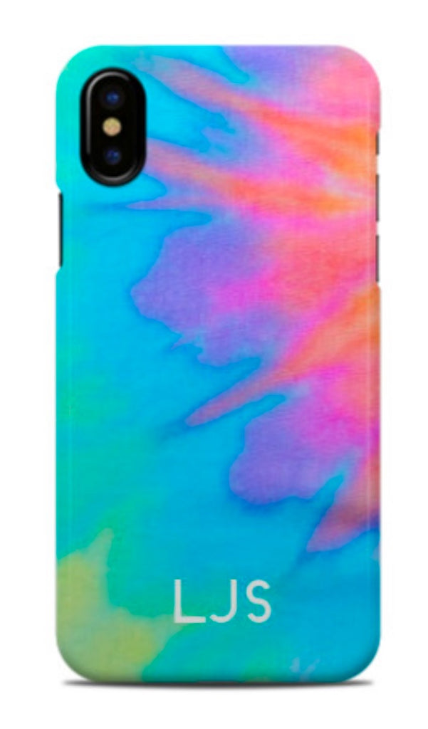 Starburst Tie Dye Phone Case