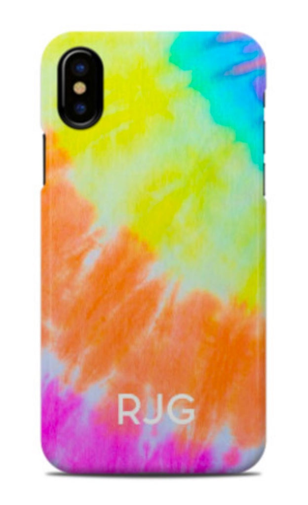 Sunset Tie Dye Phone Case