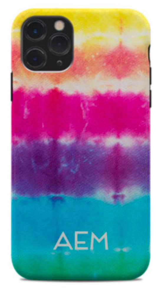 Tie Dye Stripe Phone Case