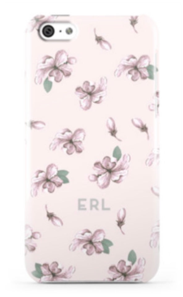Vintage Floral Blush Phone Case