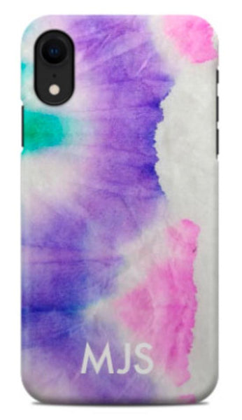 Watercolor Tie Dye Phone Case