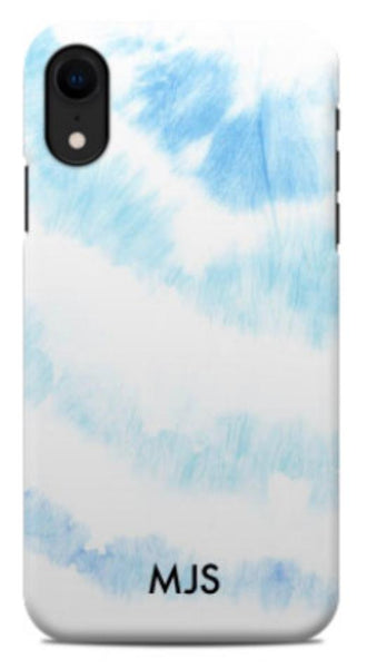 White Washed Tie Dye Phone Case