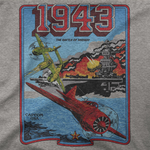 1943 retro game shirt