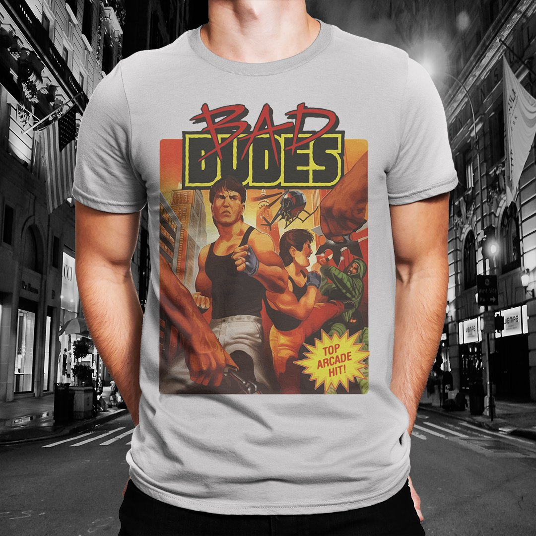 "Bad Dudes ""Cover Shot"" Tee"