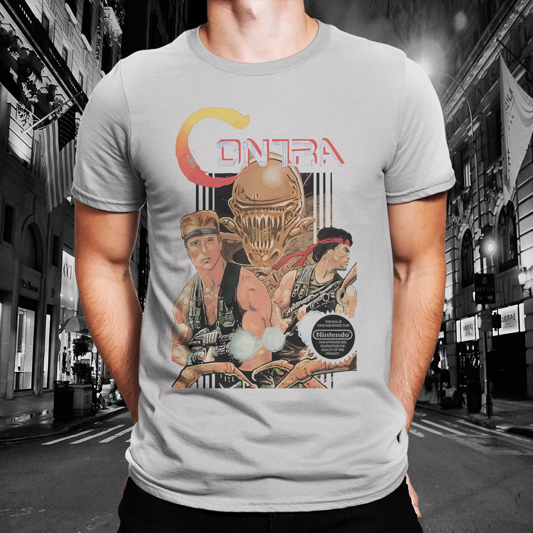 "Contra ""Cover Shot"" Tee"