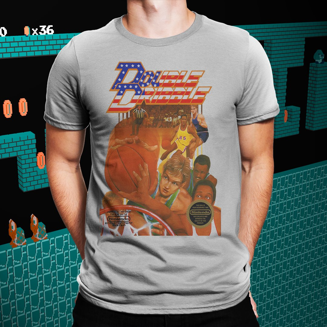 "Double Dribble ""Cover"" Tee"