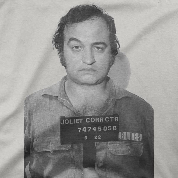 "John Belushi ""Mug Shot Blues"" Tee"