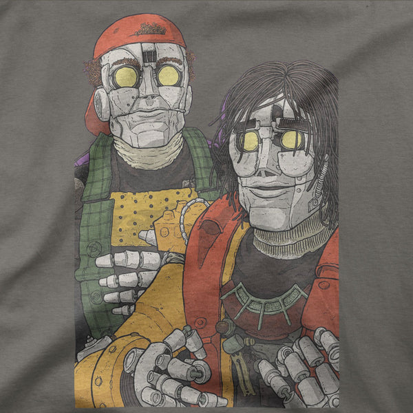"Bill and Ted ""Robot Us'"" Tee"