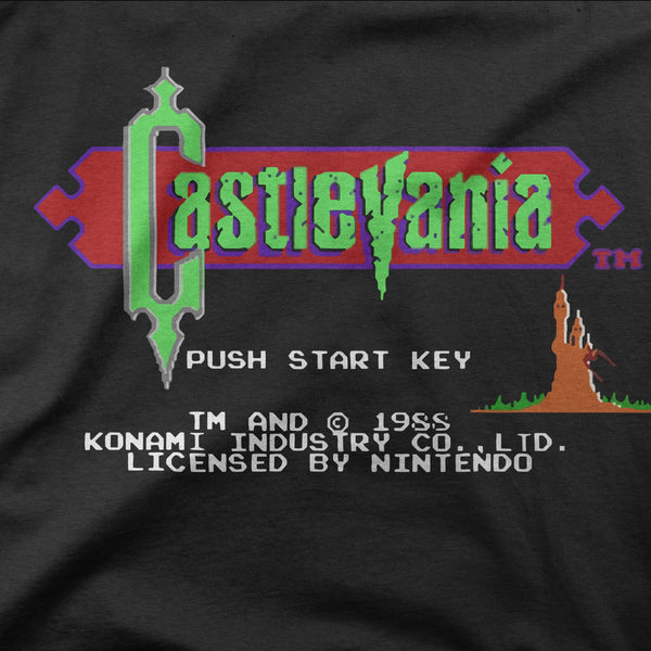 "Castlevania ""Start Screen"" Tee"