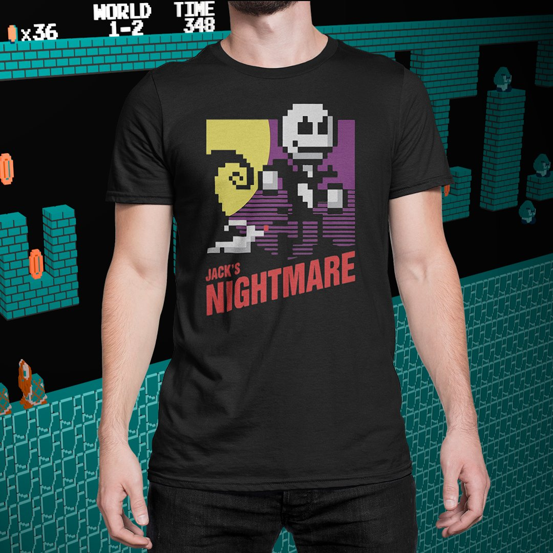 Nightmare Before Christmas 8-bit Tee