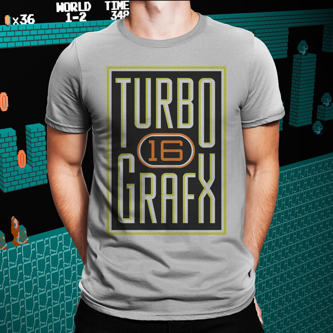 TurboGrafx-16 Retro Game Tee