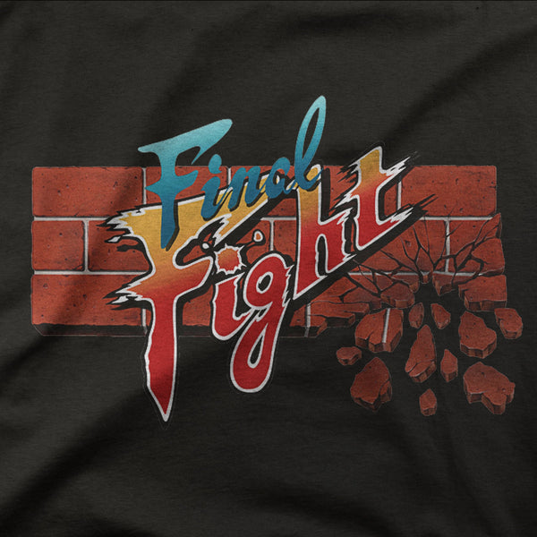 Final Fight retro game shirt
