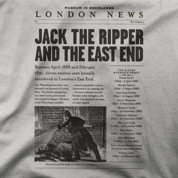 "Jack the Ripper ""Newspaper"" Tee"