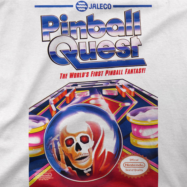 Pinball Quest Retro Game Tee