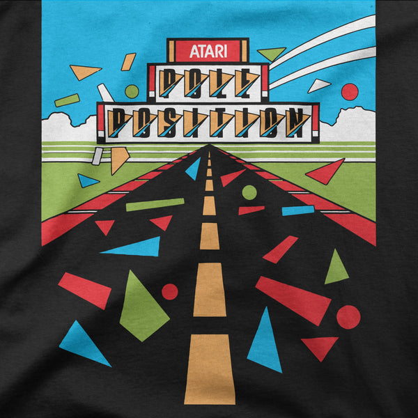 Pole Position Retro Game Tee