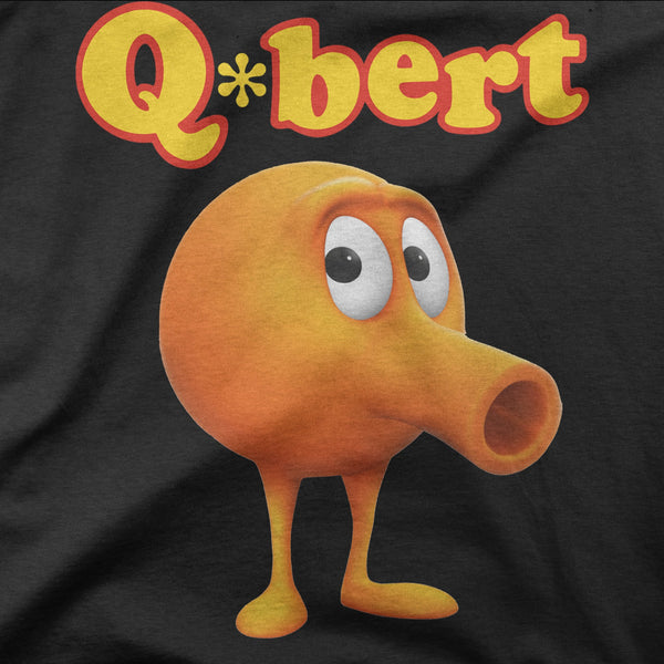 Q-bert Retro Game Tee