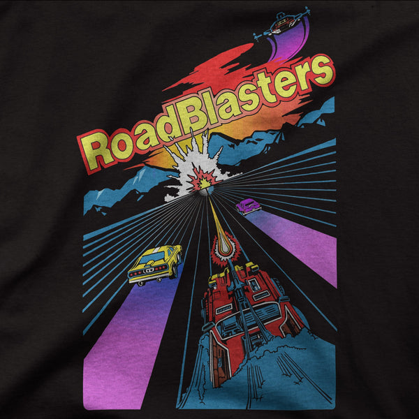 Roadblasters Retro Game Tee