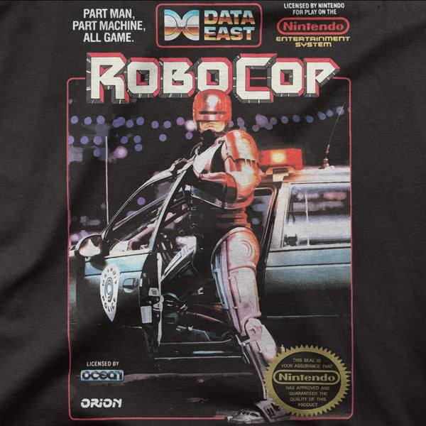 "Robocop ""NES"" Retro Game Tee"