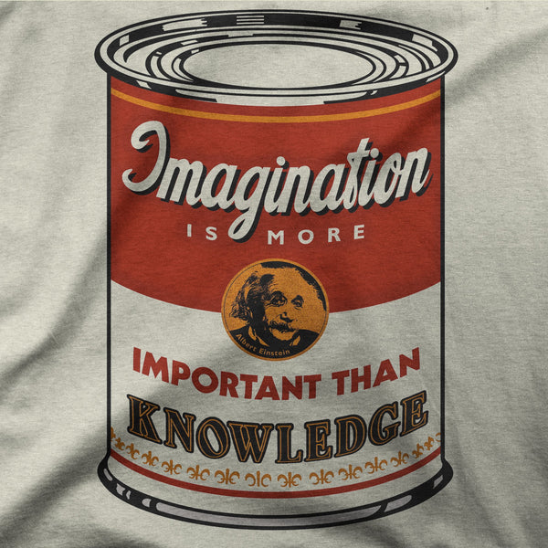 "Einstein ""Soup Can"" Tee"