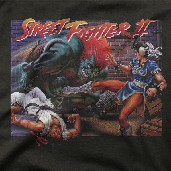 Street Fighter 2 Retro Game Tee