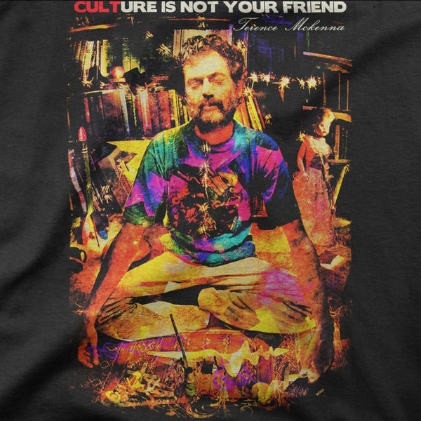 "Terence Mckenna ""CULTure"" Tee"