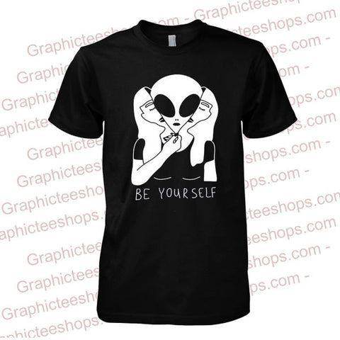 Be Your Self Alien T-Shirt
