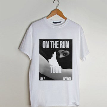 Beyonce and Jay Z On The Run T Shirt