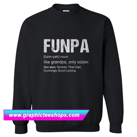 Funpa Definition Sweatshirt