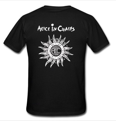 alice in chains t shirt back