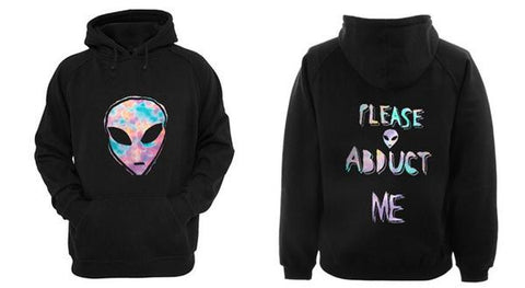 alien please abduct me Hoodies