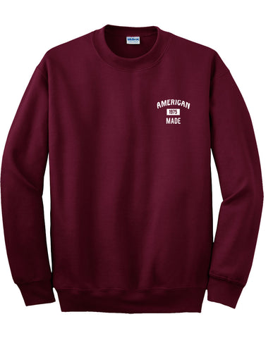 american 1975 made sweatshirt