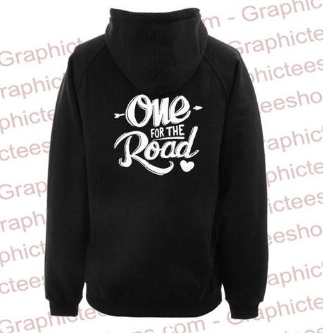 arctic monkeys one for the road hoodie back