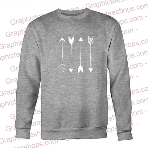 arrows sweatshirt