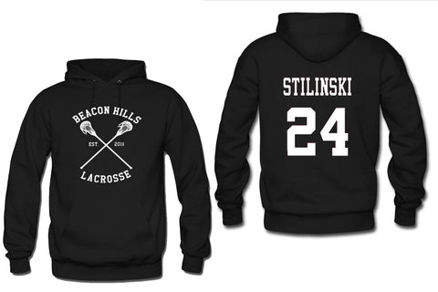 beacon hills hoodie two side