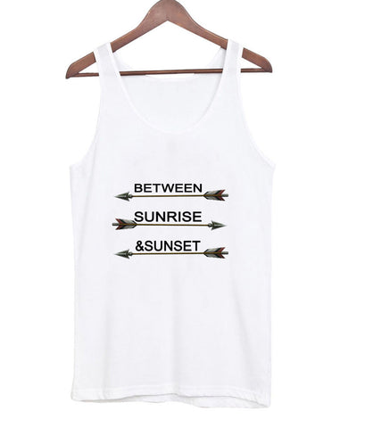 between sunrise & sunset tanktop
