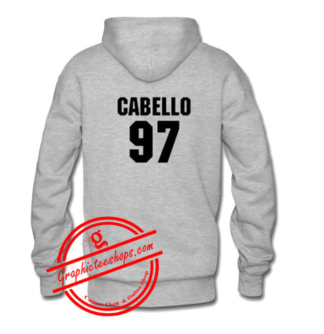 cabello 97 hoodie back