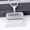 Barber Clippers Blade Pendant