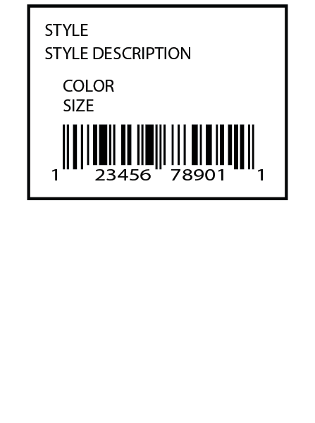 Nordstrom Direct Label 2 x 1.5