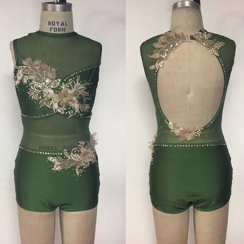 Adult medium dance bodysuit