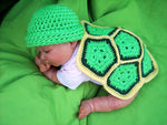 Crochet Newborn Turtle Photo Prop Pattern