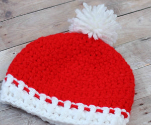 Preemie Newborn Traditional Hat Crochet Pattern