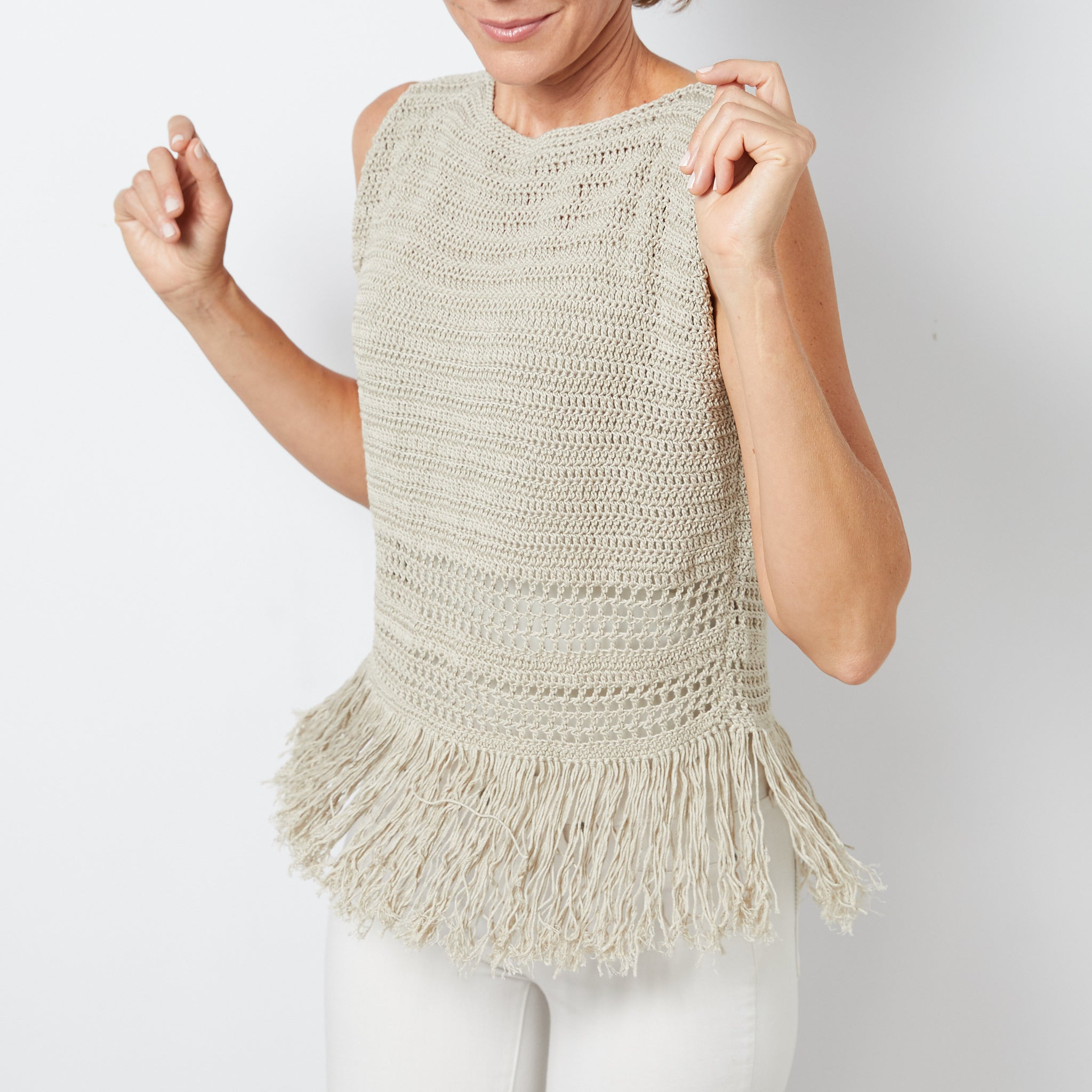 Fringe Tank Top Crochet Pattern