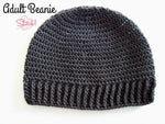 Adult Beanie Crochet Pattern